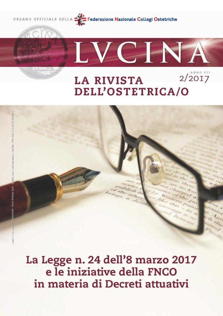Lucina. La rivista dell'Ostetrica/o, Anno VII, Numero 2/2017