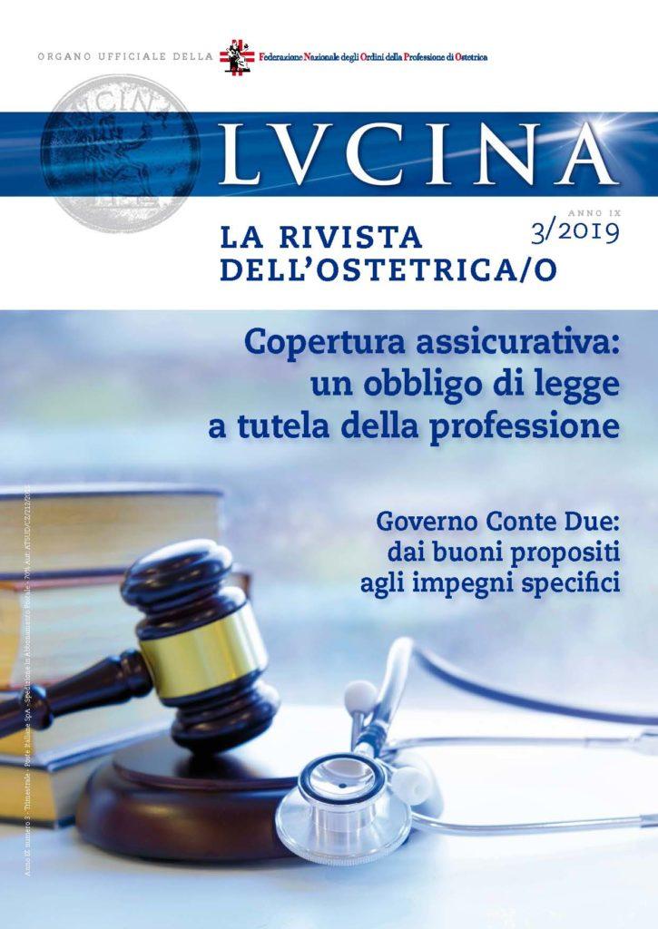Lucina. La rivista dell'Ostetrica/o, Anno IX, Numero 3/2019