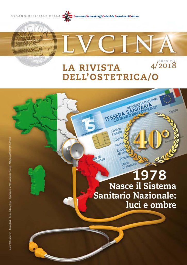 Lucina. La rivista dell'Ostetrica/o, Anno VIII, Numero 4/2018